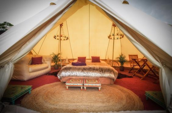 Deluxe Bell Tentsu2026at The Glastonbury Festival The Glastonbury Festival at Worthy Farm Somerset Wednesday 19th u2013 Sunday 23rd June 2019 Pilton Somerset. : luxury bell tents - memphite.com