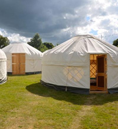 Glastonbury luxury yurt 2021