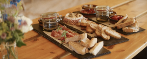 Glastonbury professional chef food