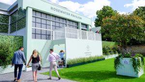 Rosewater Pavilion Wimbledon entrance
