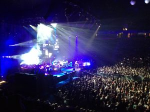 o2 arena stageside box with balcony